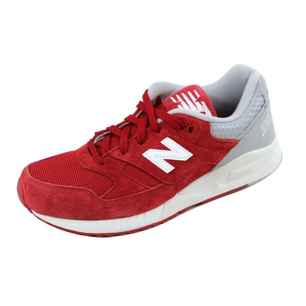 New Balance Men's 530 Suede Red/Light Grey M530SPC