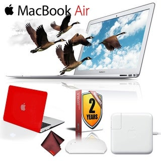Apple 13.3 MacBook Air 256GB SSD  PLUS 2 Year Extended Warranty Red