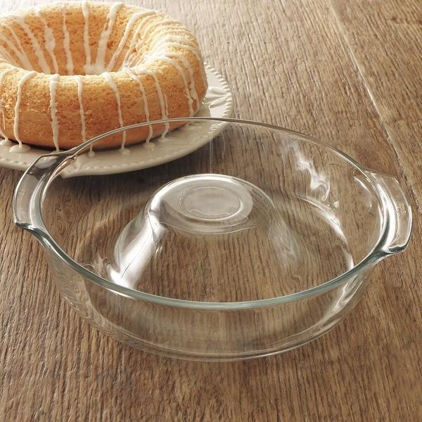 Libbey Ring Pan Glass Baking Dish