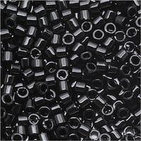 Miyuki Delica Seed Beads 15/0 Opaque Black DBS010 4 GR