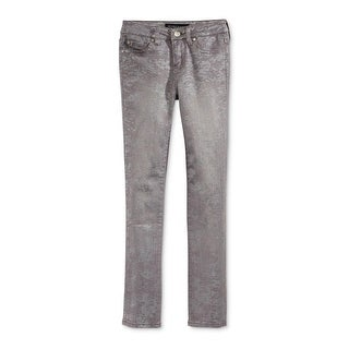 Celebrity Pink Womens Juniors Skinny Jeans Denim Metallic - 16