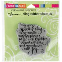 """Special Day - Stampendous Cling Stamp 4.75""""X4.5"""""""