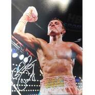 Signed Golovkin Gennady 11x14 Photo Light smudging of the signature autographed
