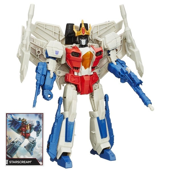 Transformers Generations Leader Class Starscream Action Figure