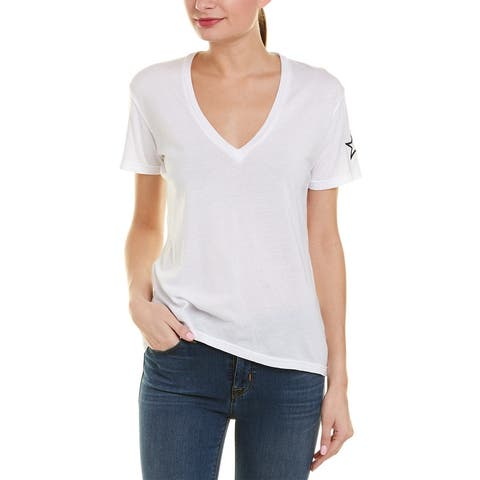Monrow Embroidered Relaxed T-Shirt