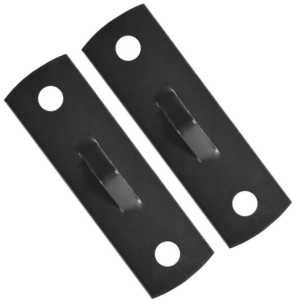 Forza Sports Double End Bag Floor And Ceiling Mount Brackets Black