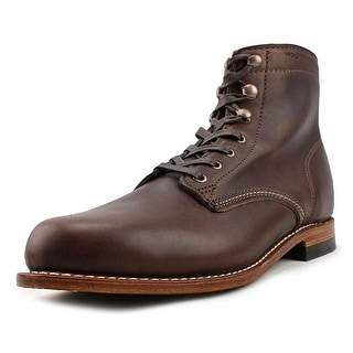 Wolverine 1000 Mile Round Toe Leather Work Boot