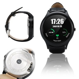 Indigi® A6 Bluetooth 4.0 SmartWatch & Phone w/ Pedometer + Accurate Heart Monitor + WiFi + GPS + Full Android 4.4 KitKat