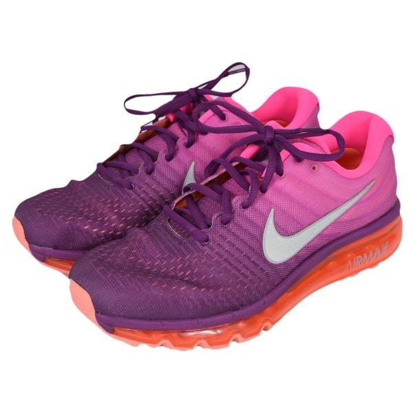info pour 31067 0419b Shop NIKE AIR MAX 2017 Ombre Pink Women's Running Tennis ...
