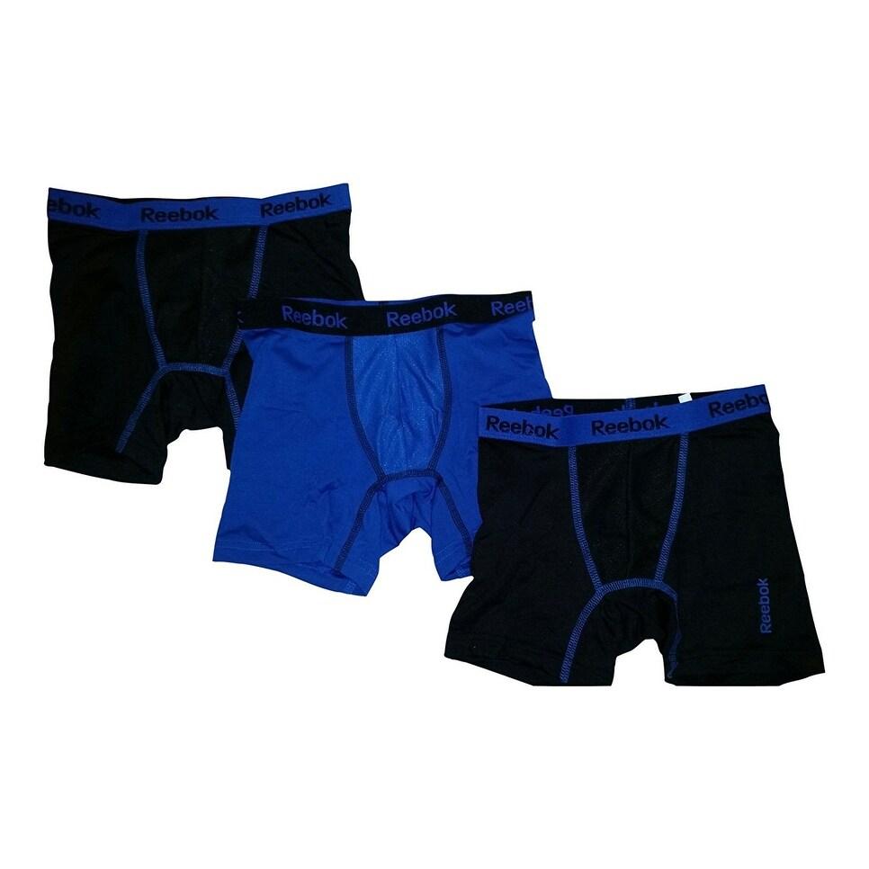 Reebok Boys Performance Boxer Briefs 3 Pack 16-18 Waist XL