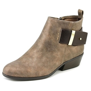 White Mountain Limerick Women  Round Toe Synthetic Bronze Ankle Boot