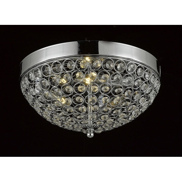 Flush Mount French Empire Crystal Chandelier