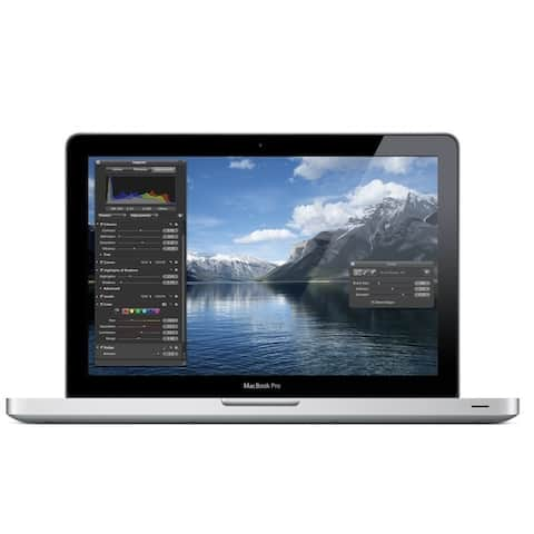 Apple MacBook Pro MD314LL/A Intel Core i7-2640M X2 2.8GHz 16GB 500GB,Silver(Certified Refurbished)