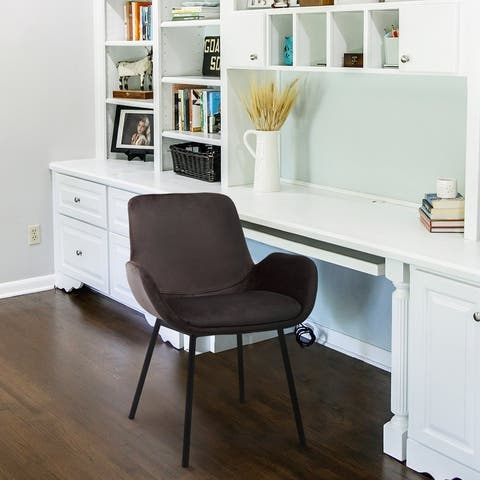 Archiology Quince Home Side Office Task Chair , Armed Guest Chair