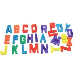 Unique Bargains 26 Pcs Kids Alphabets Fridge Refrigerator Magnets Wall Letters Stickers