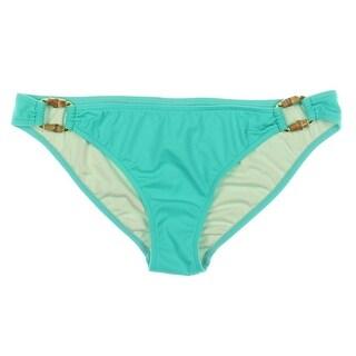 Milly Cabana Womens Antibes Beaded O-Ring Swim Bottom Separates - p