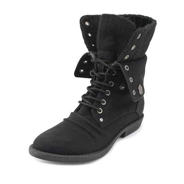 Blowfish Alexi Women Pointed Toe Synthetic Black Ankle Boot