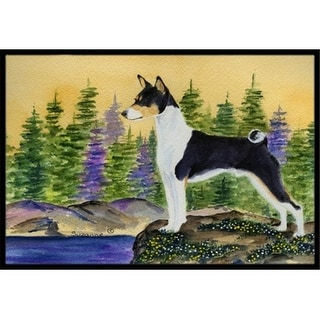 Carolines Treasures SS8201JMAT Basenji Indoor Or Outdoor Doormat - 24 x 36 in.