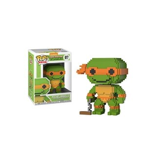 Funko POP 8-Bit - TMNT - Michelangelo - Multi