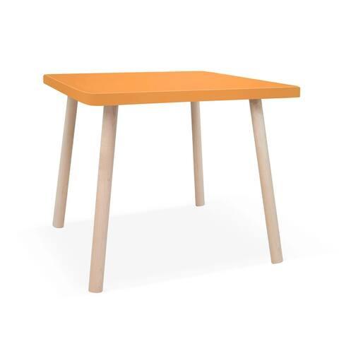 "Nico & Yeye Peewee Small Square 23.5"" Kids Table"