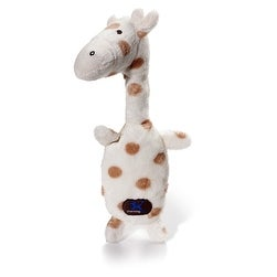 Charming Pet Products Giraffe Poppin Polkies Dog Toy