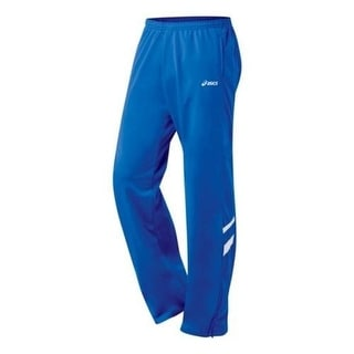 Asics Mens Contrast Trim Flat Front Lounge Pants - XL