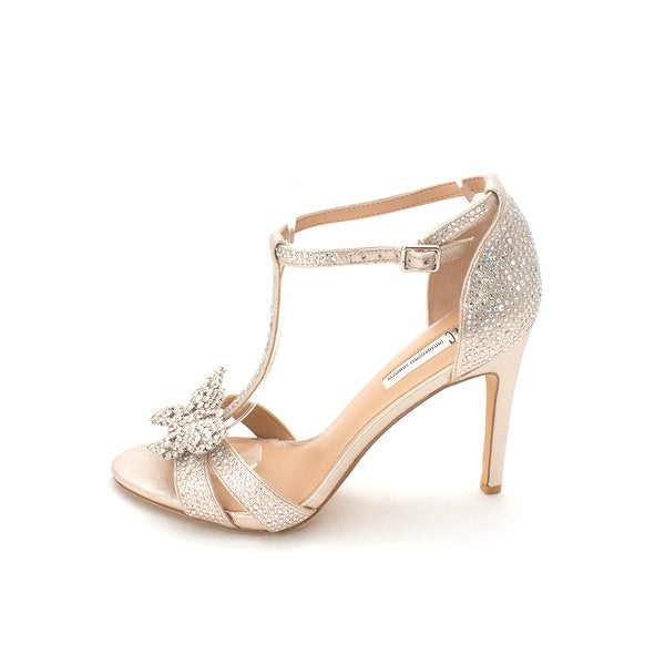 INC International Concepts Womens Rissaa3 Fabric Open Toe Special Occasion An...