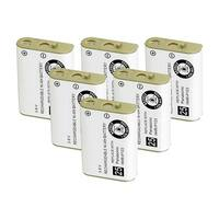 Replacement Battery For AT&T EP562 Cordless Phones - 00249 (700mAh, 3.6V, Ni-MH) - 6 Pack