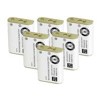 Replacement For AT&T 102 Cordless Phone Battery (700mAh, 3.6V, Ni-MH) - 6 Pack