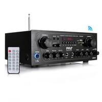 Pyle PTA24BT 250 watt 2 Channel Compact Bluetooth Home Audio Amplifier
