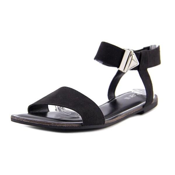 Bar III Victor Women Black Sandals