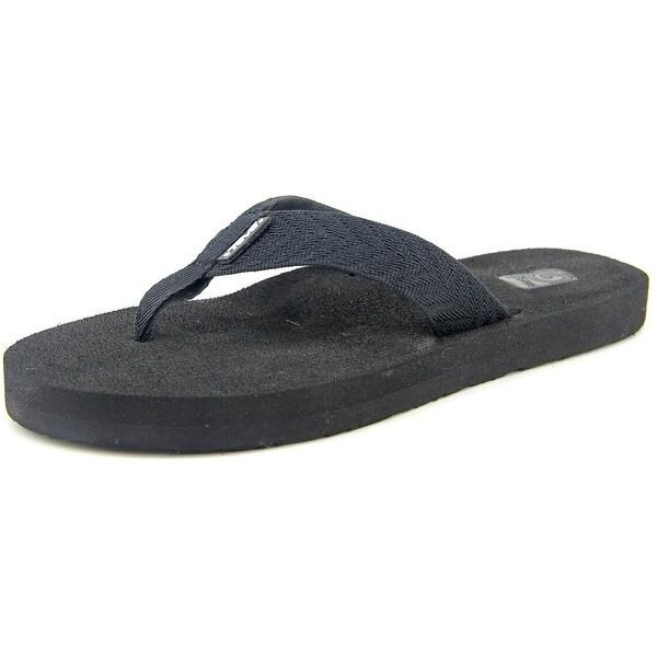 Teva Mush II Women Open Toe Canvas Flip Flop Sandal