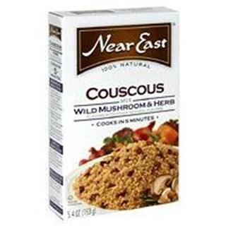Near East B06590 Near East Wild Mushroom & Herb Couscous -12x5.4 Oz