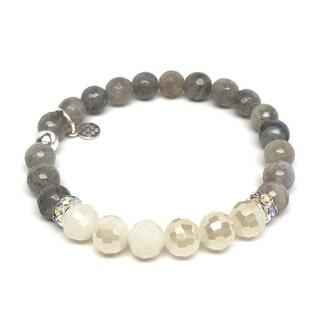 "Grey Labradorite Jen 7"" Bracelet"