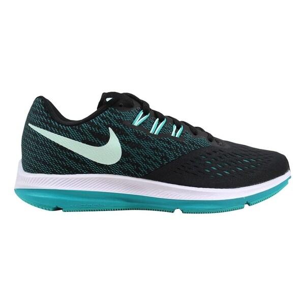 fd58946de8f0 Shop Nike Zoom Winflo 4 Black Igloo-Turbo Green Women s 898485-014 ...