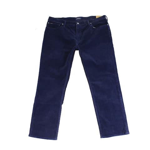 Polo Ralph Lauren Mens Pants Blue Size 40x30 Classic Stretch Corduroy