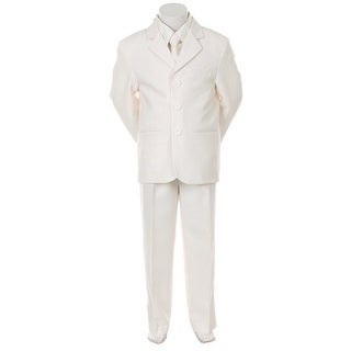 Kids Dream Ivory Necktie Vest Formal Special Occasion Boys Suit 5-20