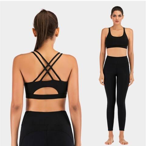 2020 Women's Beautiful Back Fitness Sports Bra