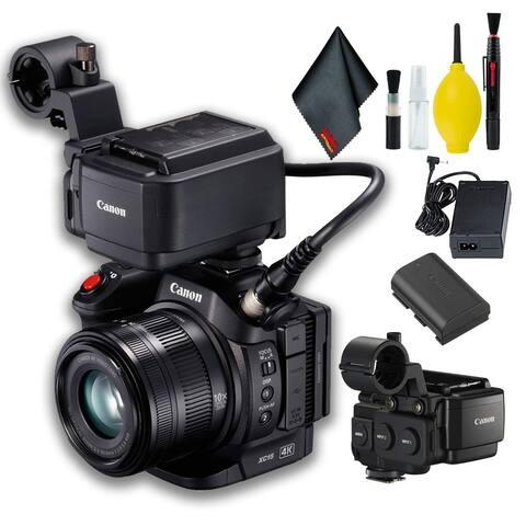 Canon XC15 4K Professional Camcorder Base Bundle