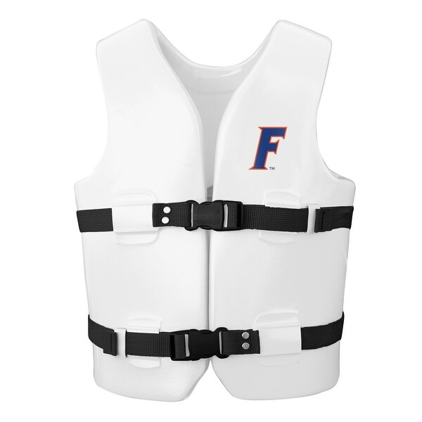 """23"""" White NCAA University of Florida Child's Extra Small Life Vest - N/A"""