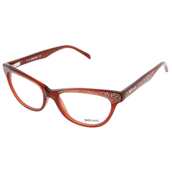Just Cavalli JC0468/V 066 Burnt Umber Cat-Eye Optical Frames - Burnt Umber - 52-16-140