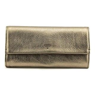 Fossil Wallet/Passport Case Women Leather Wallet