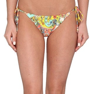 Shoshanna NEW Yellow Women's Size P Petite Bikini Bottom Swimwear