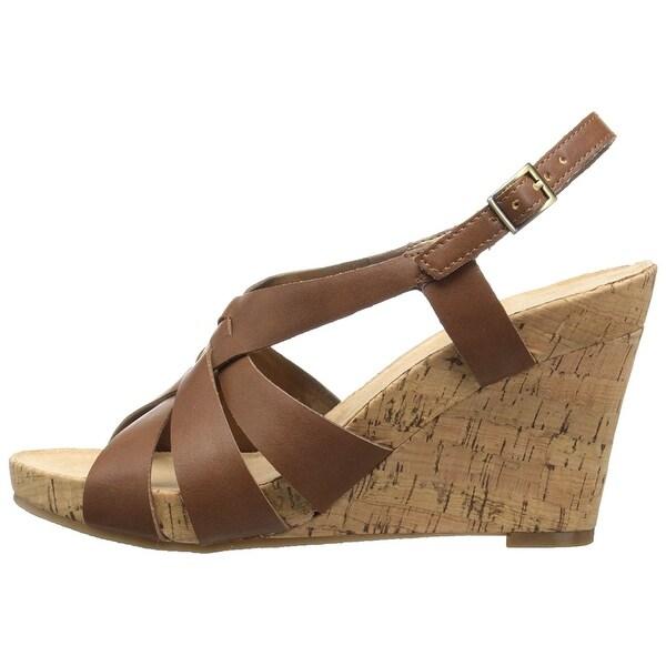99fcfa5c82a4 Shop Aerosoles Womens Guava PLUSH Open Toe Casual Platform Sandals ...