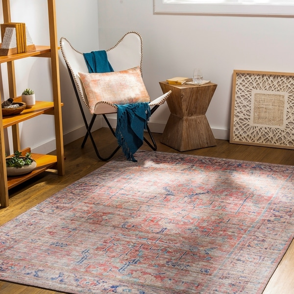 Afsoun Vintage Printed Area Rug. Opens flyout.