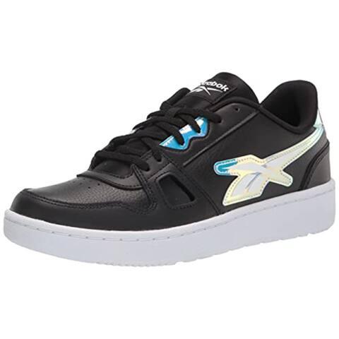 Reebok Women's Resonator Low Sneaker, Black/White, 6