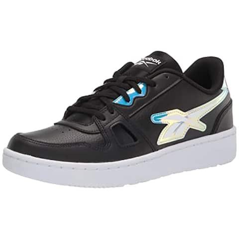 Reebok Women's Resonator Low Sneaker, Black/White