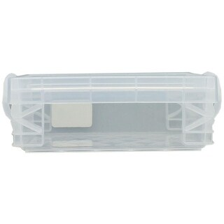 Storage Studios Super Stacker Crayon Box Clear