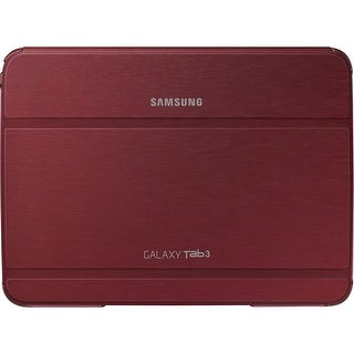 "Samsung Carrying Case (Book Fold) for 10.1"" Tablet - Red - (Refurbished)"