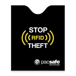 Pacsafe RFIDsleeve 50-Black RFID Blocking Passport Protector